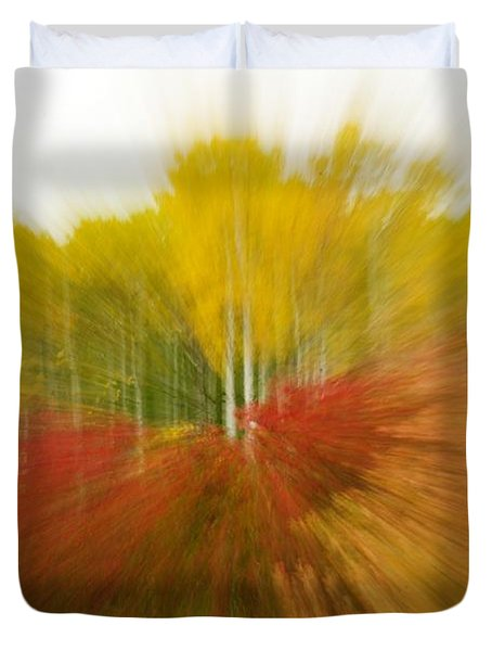 Autumn Colors Duvet Cover by Vivian Christopher