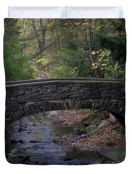 Autumn Creek Duvet Cover by J Allen