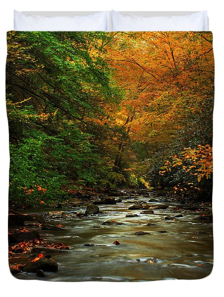 Autumn Creek Duvet Cover