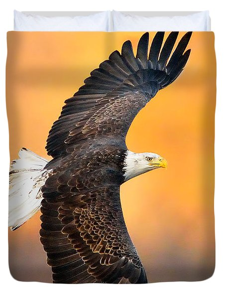 Autumn Eagle Duvet Cover