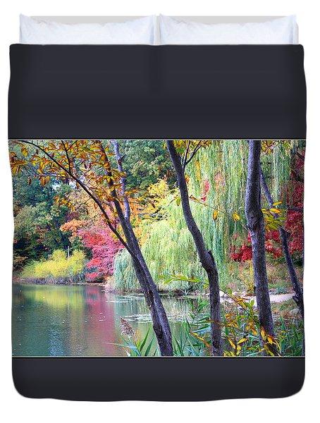 Autumn Fantasy Duvet Cover by Dora Sofia Caputo Photographic Art and Design