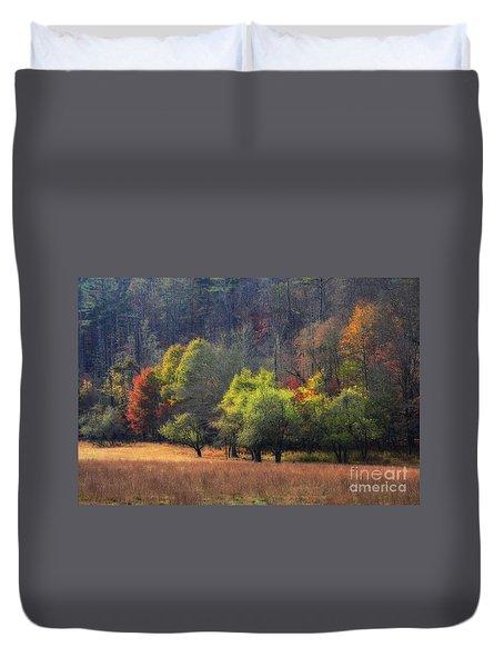 Autumn Field Duvet Cover