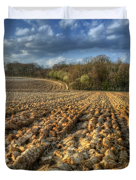 Autumn Field Duvet Cover