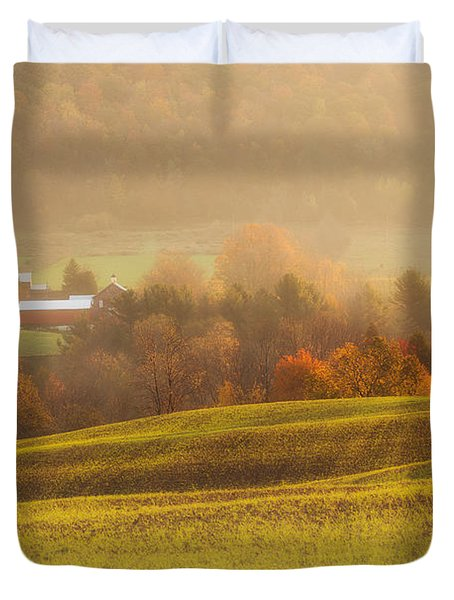 Autumn Fields Duvet Cover