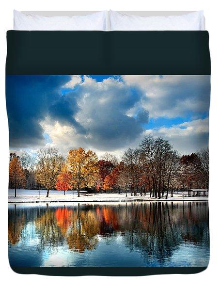 Autumn Finale Duvet Cover