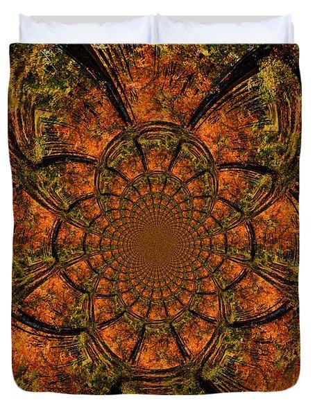 Autumn Forest Duvet Cover