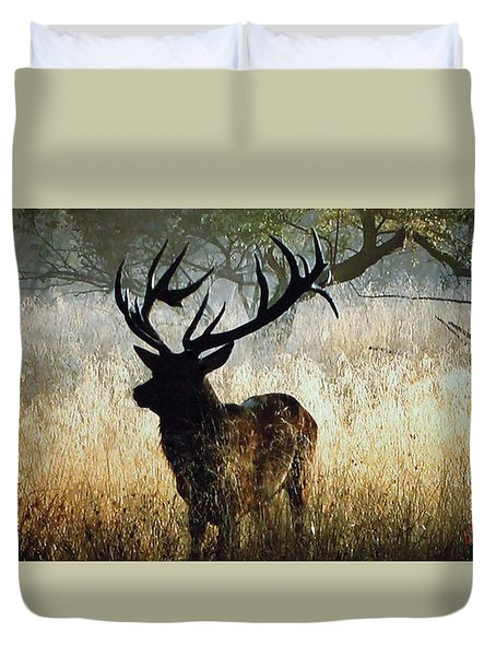 Autumn Forest Walk In Denmark  Duvet Cover