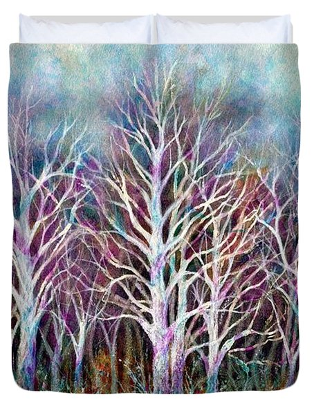 Autumn Frost Duvet Cover