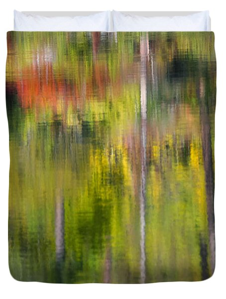 Autumn Impressions Duvet Cover by Mike  Dawson