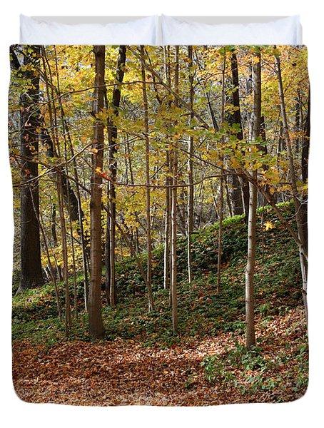 Autumn In Grant Park 4 Duvet Cover
