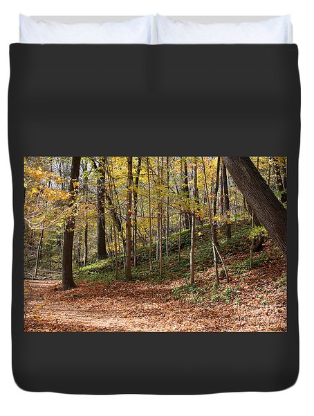 Autumn In Grant Park 4 Duvet Cover