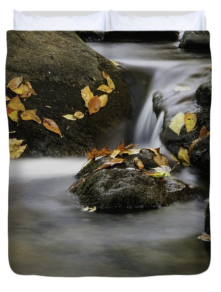 Autumn In Hackelbarney II Duvet Cover
