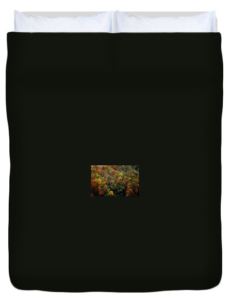 Duvet Cover featuring the photograph Colours Of Autumn by Marija Djedovic