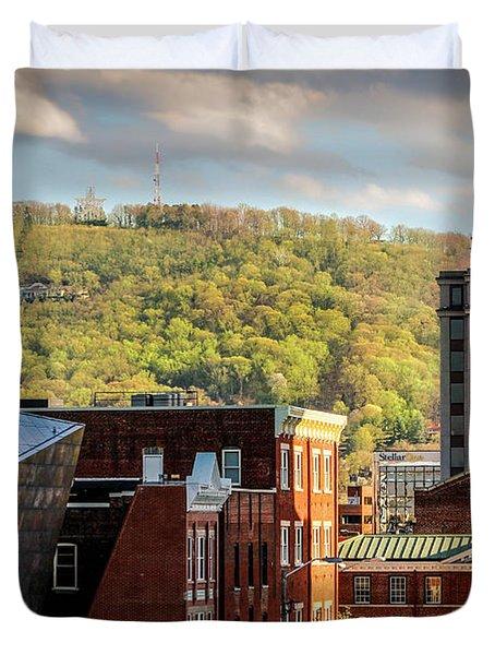 Autumn In Roanoke Duvet Cover by Mountain Dreams