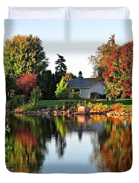 Autumn In Wisconsin Duvet Cover