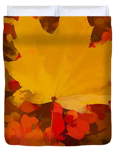 Autumn Is A State Of Mind More Than A Time Of Year Duvet Cover