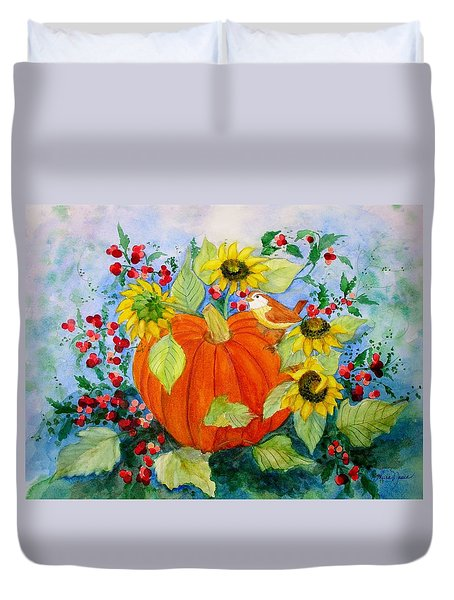 Autumn Duvet Cover by Laura Nance