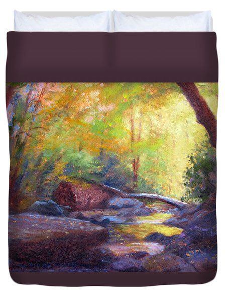 Autumn Memory Duvet Cover