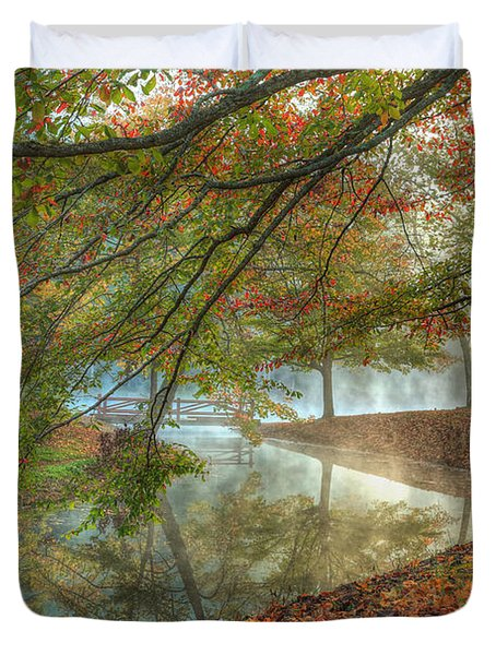 Autumn Mist Duvet Cover