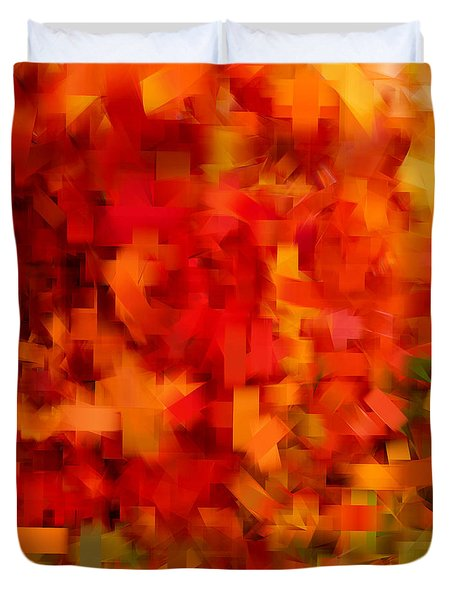 Autumn On My Mind Duvet Cover