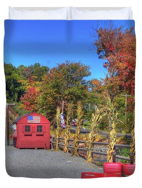 Autumn Orchard Duvet Cover by Joann Vitali