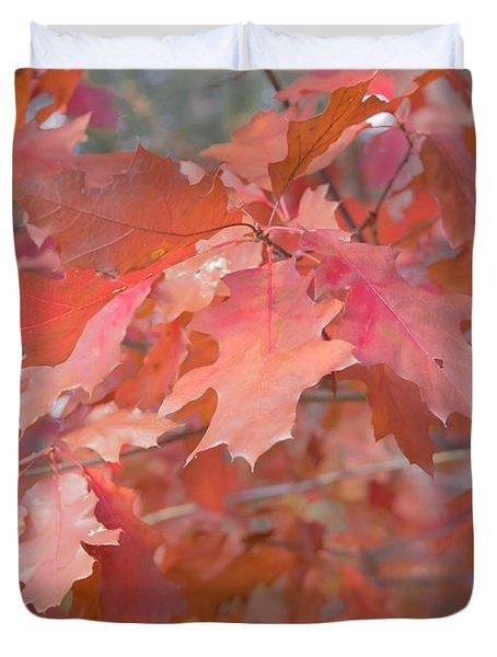 Autumn Paintbrush Duvet Cover