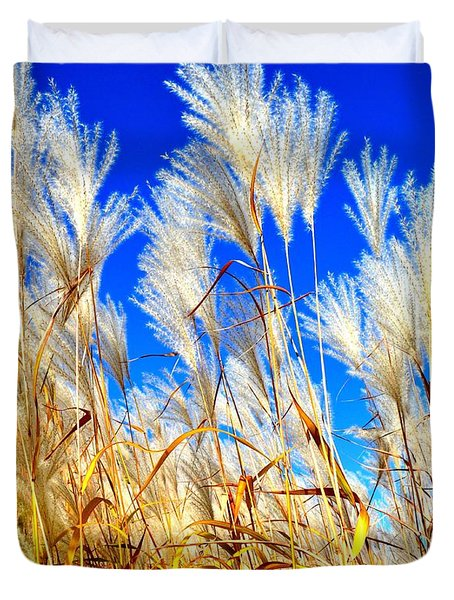 Autumn Pampas Duvet Cover