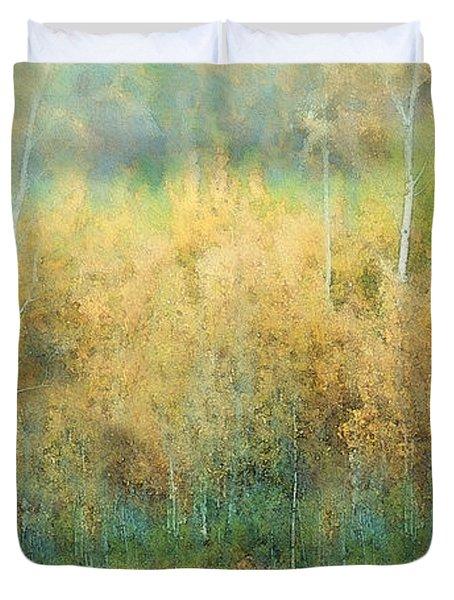 Autumn Pastels Duvet Cover