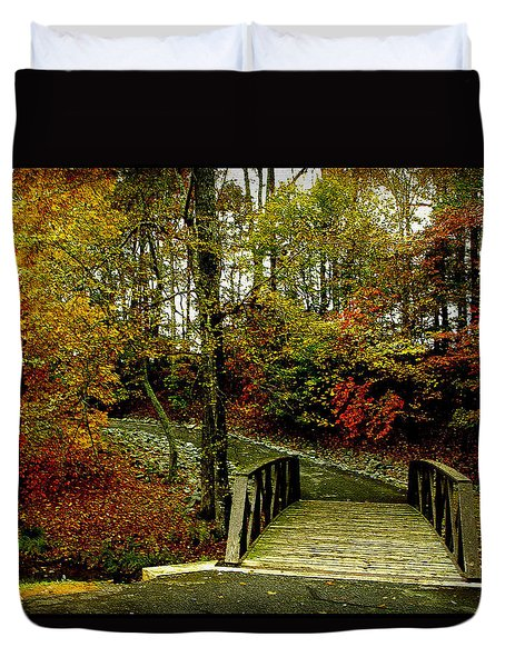 Autumn Peace Duvet Cover