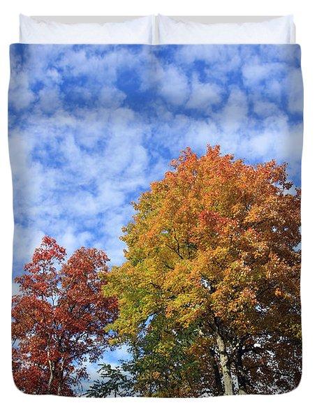 Autumn Perfection Duvet Cover