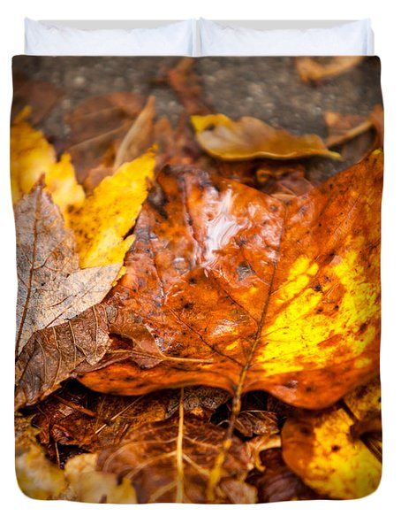 Autumn Pile Duvet Cover