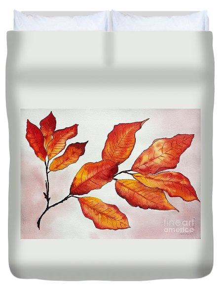 Autumn Duvet Cover by Shannan Peters