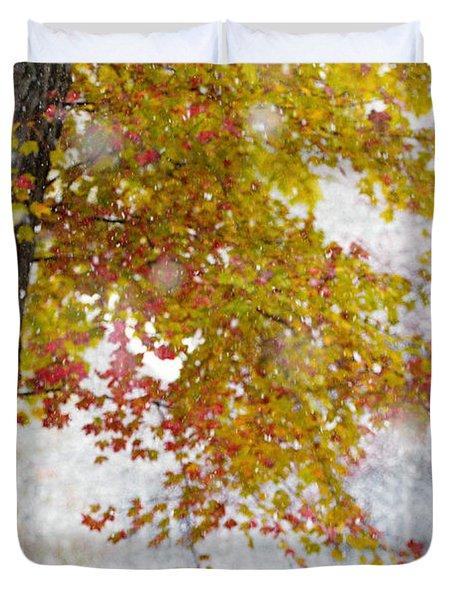 Autumn Snow Duvet Cover