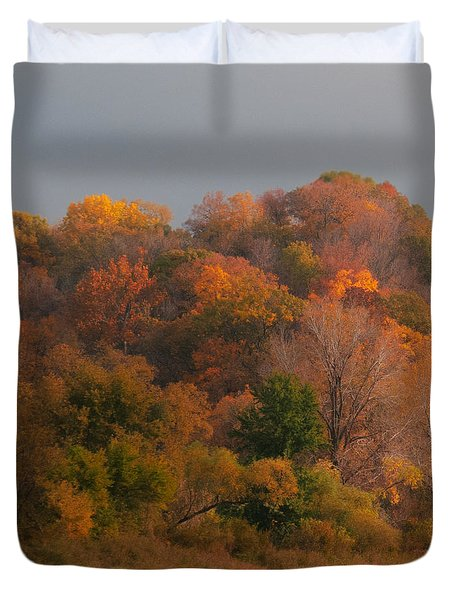 Autumn Splendor Duvet Cover by Don Spenner