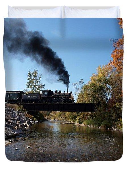 Autumn Steam Duvet Cover