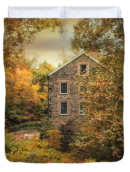 Autumn Stone Mill Duvet Cover