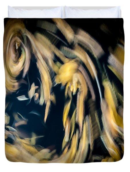 Autumn Storm Duvet Cover by Steven Milner