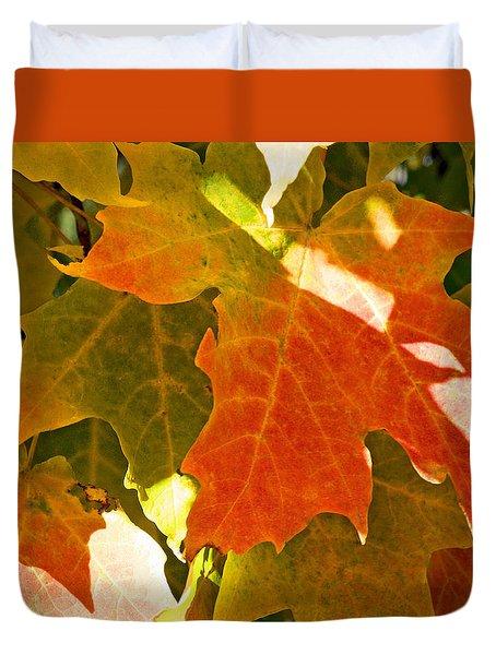 Autumn Sunlight Duvet Cover