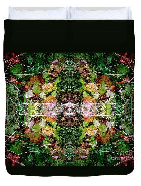 Autumn Symmetry Duvet Cover