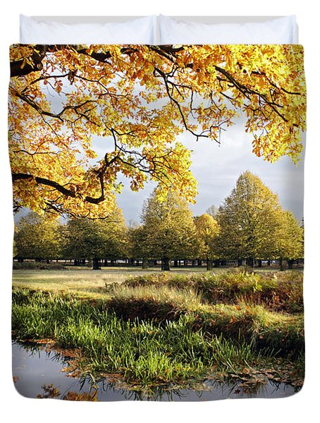 Autumn Trees Duvet Cover