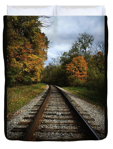 Autumn View Duvet Cover