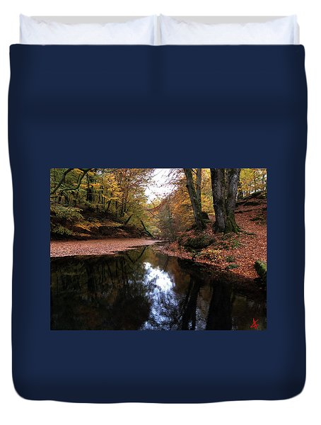 Autumn Weather Denmark Duvet Cover