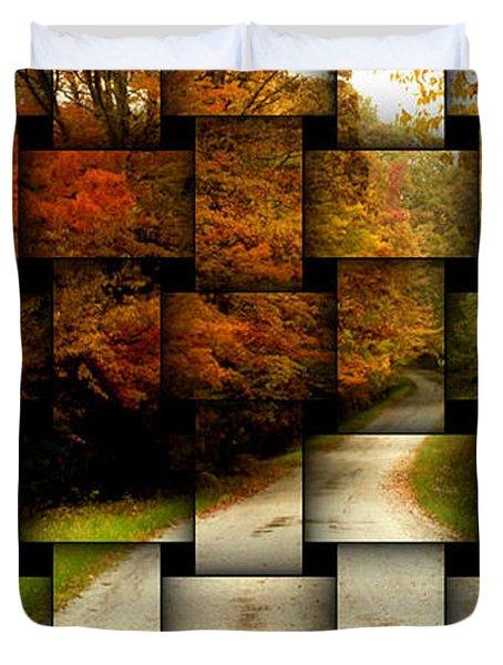 Autumn Weave Duvet Cover