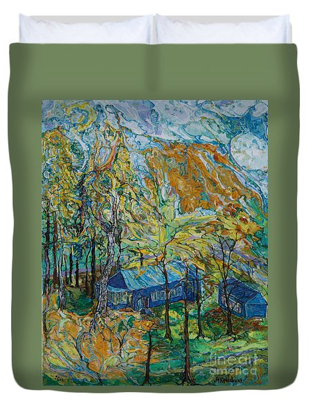 Autumn Wind Duvet Cover