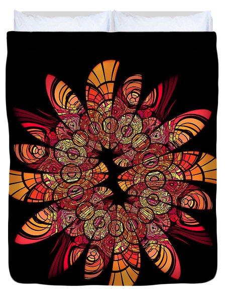 Autumn Wreath Duvet Cover