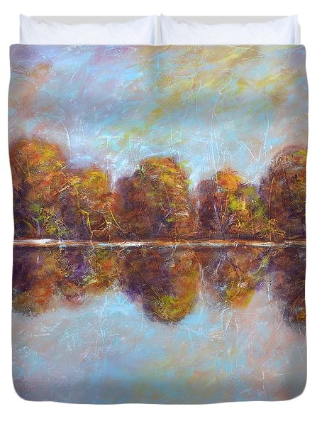 Autumnal Atmosphere Duvet Cover