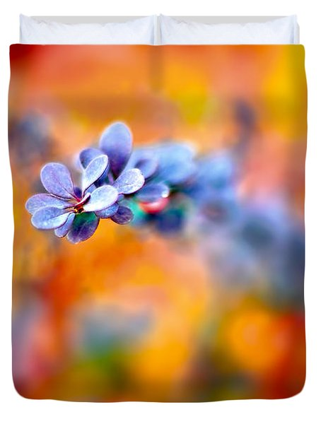 Autumnal Berberis Duvet Cover