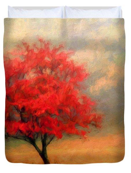 Autumns Colors Duvet Cover by Darren Fisher