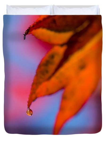 Autumn's Finest Duvet Cover by Anne Gilbert