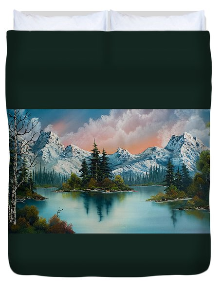 Autumn's Glow Duvet Cover by Chris Steele